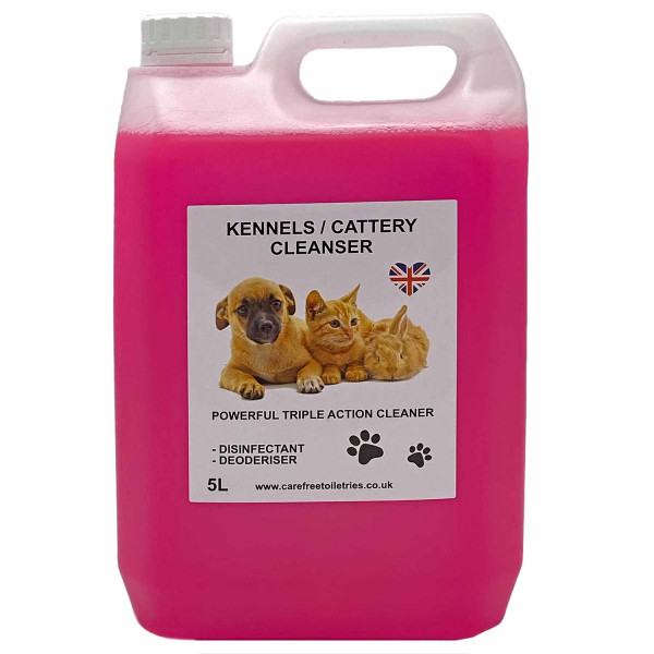 Kennel / Cattery Cleanser (Bubble Gum) 5L