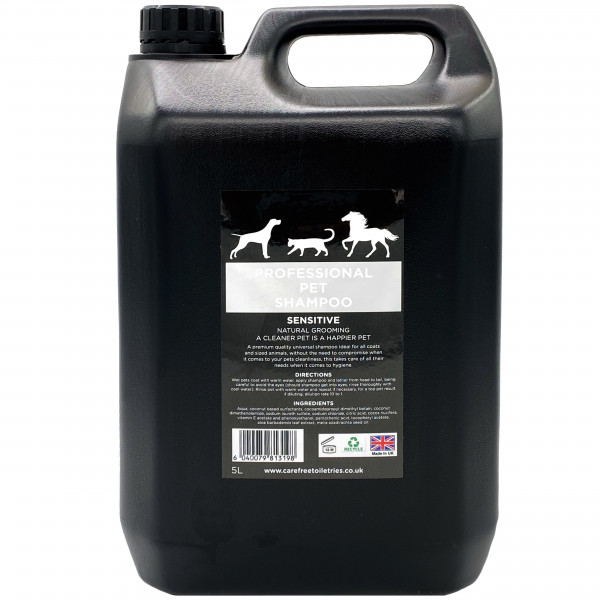 Professional Pet Grooming Shampoo (Sensitive) 5L dilution rate 32 to 1