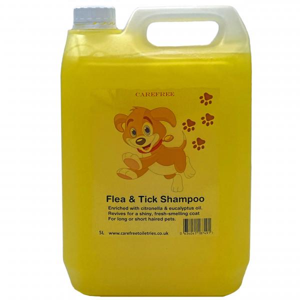 Professional Flea and Tick Pet Shampoo 5L dilution rate 32 to 1
