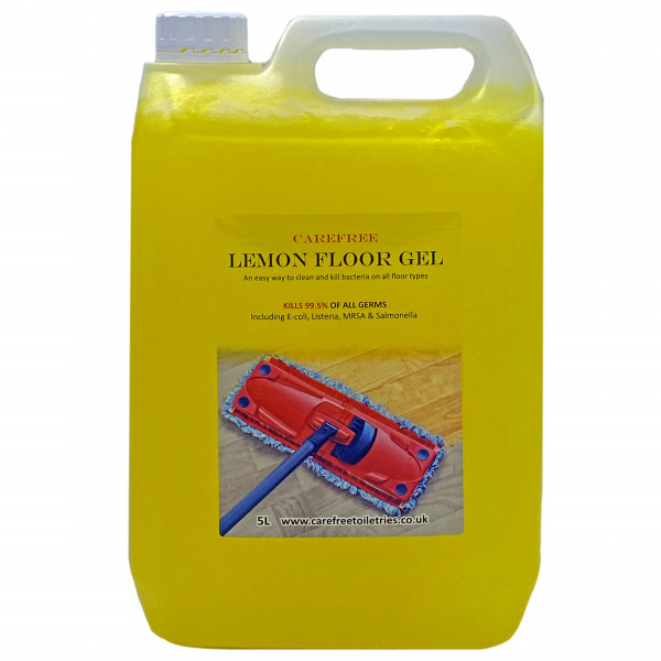 Floor Gel (Lemon) with pump dispenser 5L