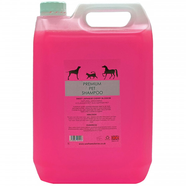 Professional Pet Grooming Shampoo (Japanese Cherry Blossom) 5L dilution rate 32 to 1
