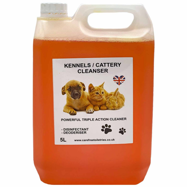 Kennel / Cattery Cleanser (Pear Drops) 5L