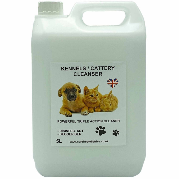 Kennel / Cattery Cleanser (Baby Powder) 5L
