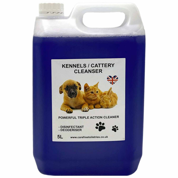 Kennel / Cattery Cleanser (Cherry) 5L