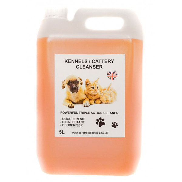 Kennel / Cattery Cleanser (Sweet Peach) 5L