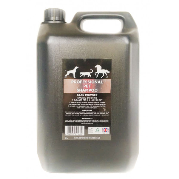 Professional Pet Grooming Shampoo (Baby Powder) 5L dilution rate 32 to 1