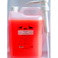Professional Pet Grooming Shampoo (Japanese cherry blossom) 5L with pump dilution rate 32 to 1