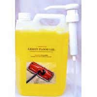 Floor Gel (Lemon) with pump dispenser 5L
