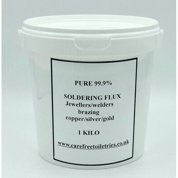 FLUX WELDERS, SOLDERING, JEWELLERS FOR GOLD, SILVER, COPPER MUCH MORE 1KILO