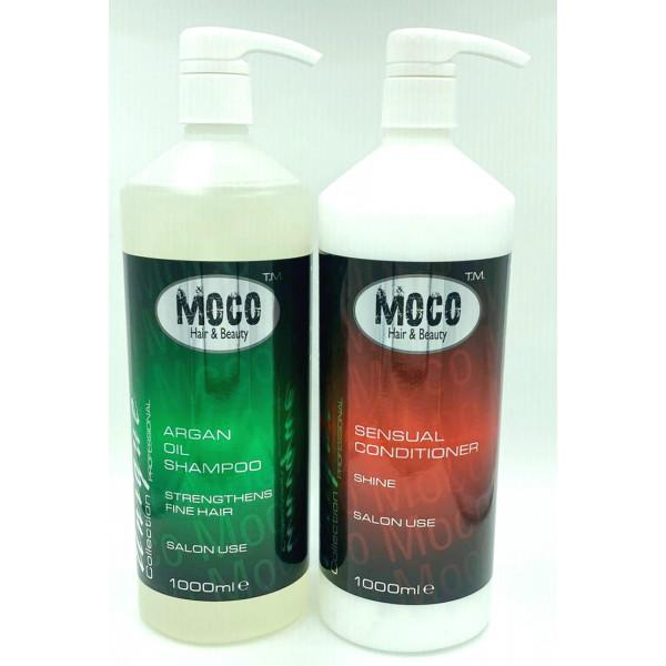 2 x 1 litre salon backwash twin pack shampoo & conditioner.