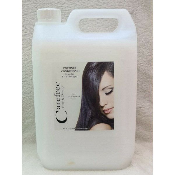 COCONUT CONDITIONER 5L BACKWASH FOR SALONS WITH FREE PUMP DISPENSER